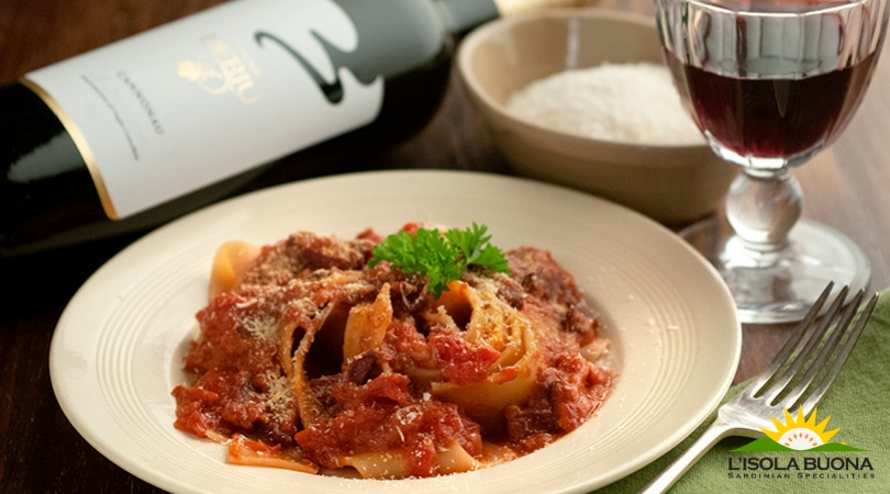Easter celebration with wild boar pappardelle pasta - Click here to view this news entry