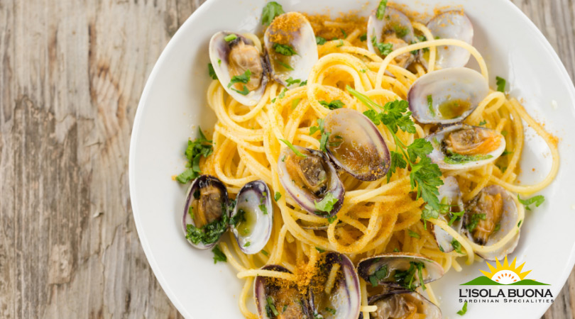 Seafood Linguine with Mullet Roe Bottarga - Click here to view this news entry