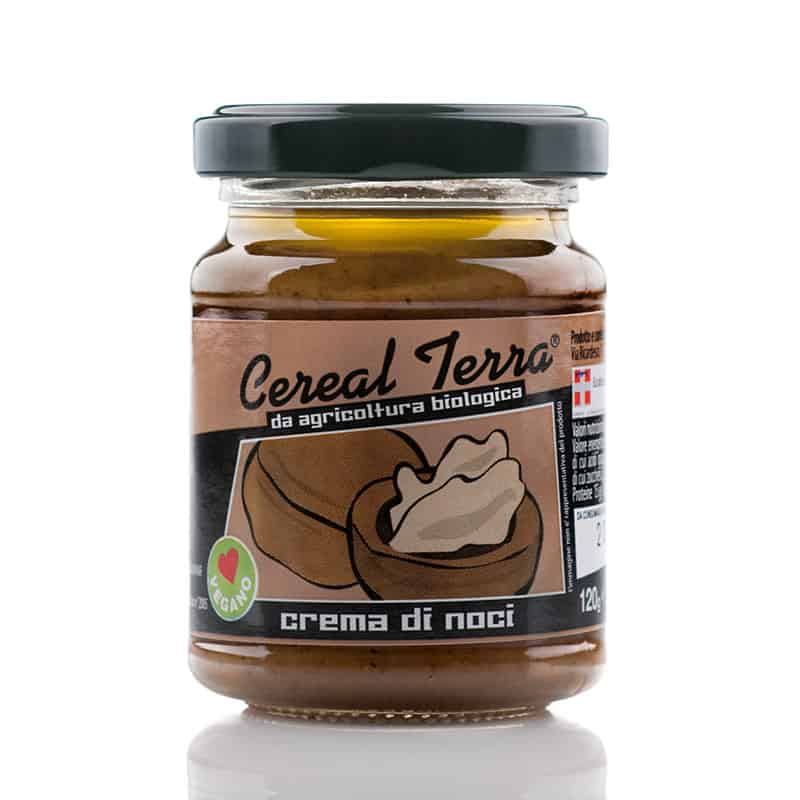 Organic Cream of Walnuts - Crema di noci bio